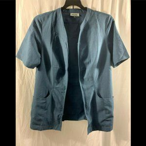 Cintas Brand Workers Vest Blue Size Medium